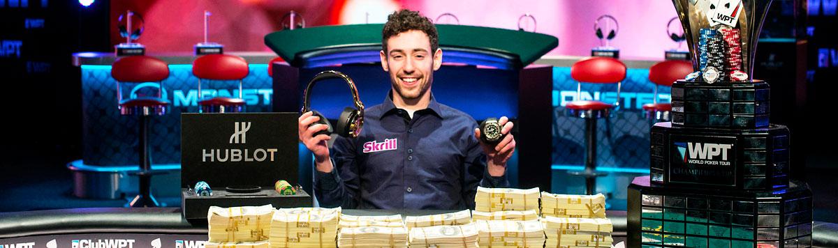 World Poker Tour Sponsors - Hublot, Skrill, FIAT, Monster Headphones, Royal Caribbean