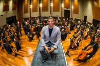 WPT CEO Adam Pliska with Orchestra