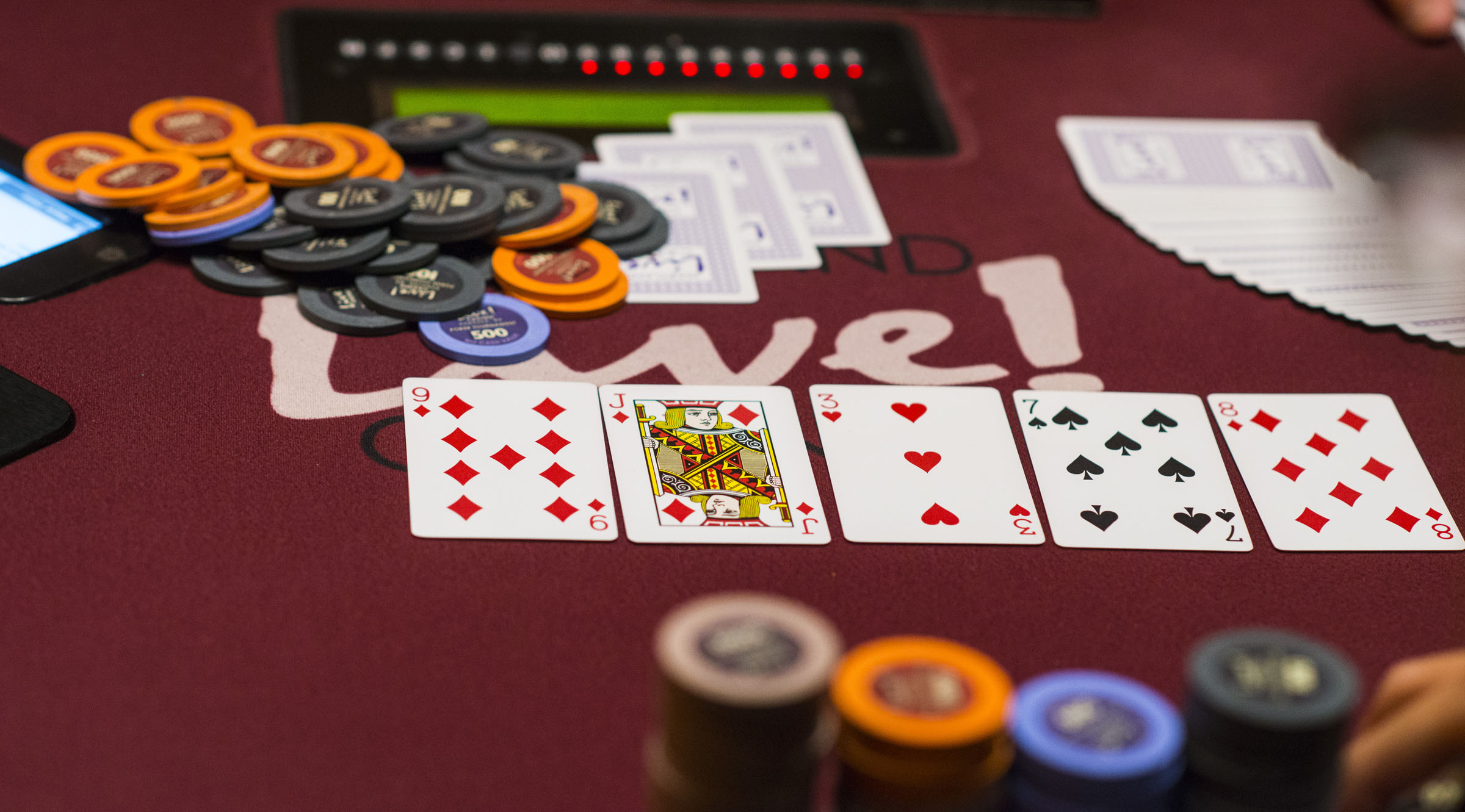 Wpt maryland live off to a great start with 1 5 - Maryland live poker room phone number ...