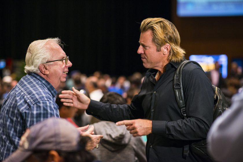 Jim McLaughlin and Vince Van Patten
