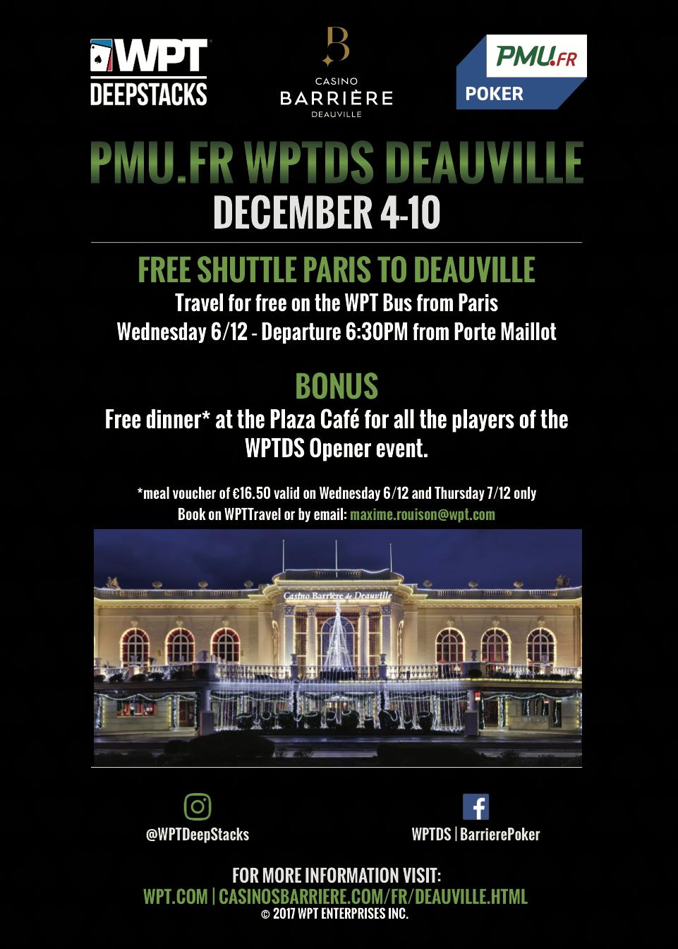 WPTDeepStacks Deauville Shuttle