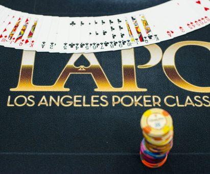 WPT L.A. Poker Classic felt